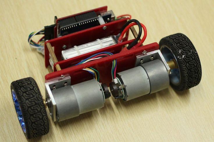 Make a selfbalancing robot with arduino uno balancing