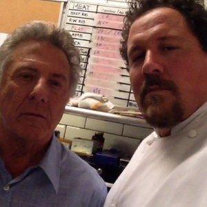 Dustin Hoffman and Bobby Cannavale Join Chef -- Writer-director-star Jon Favreau announces the new cast members with a brief Vine video from the set of his culinary comedy. -- http://wtch.it/X8lvB