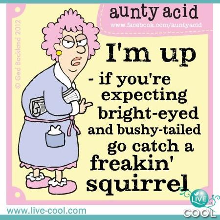 aunty acid -