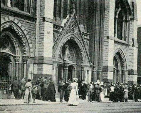 Church in Thomas st in the old days