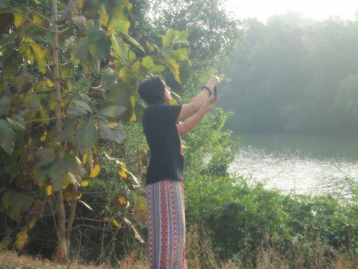 Neera by the Aldona riverside @theonlyolive