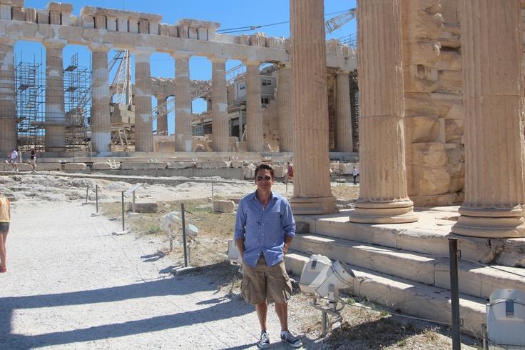 Acropolis Athens Greece - Dave Koz & Friends at Sea - 2013 Italy, Greece & Sicily The Smooth Jazz Cruise - http://www.davekozcruise.com