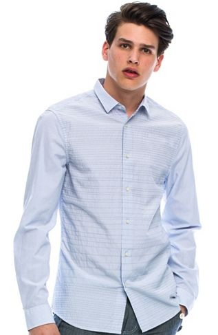 like that shirt Stitch Striped Shirt - New Arrivals - Mens - Armani Exchange