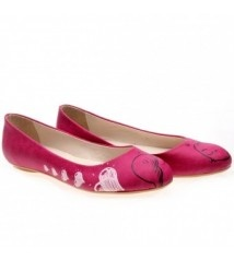 Carmella Fuşya Babet Ayakkabı