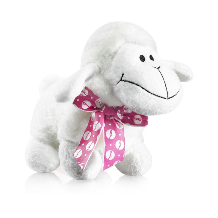 Breast Cancer Plush Sheep, 25 lei. For every toy purchased, profits from its sale will be donated to the Avon Breast Cancer Crusade.   Oiță de pluș, 25 lei, https://www.avon.ro/539-606/produse-campanii-sociale/campania-impotriva-cancerului-la-san/
