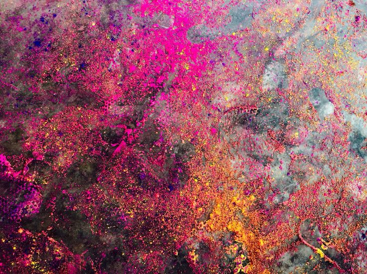 This is how the floor ends up after Holy Colors. Kerala