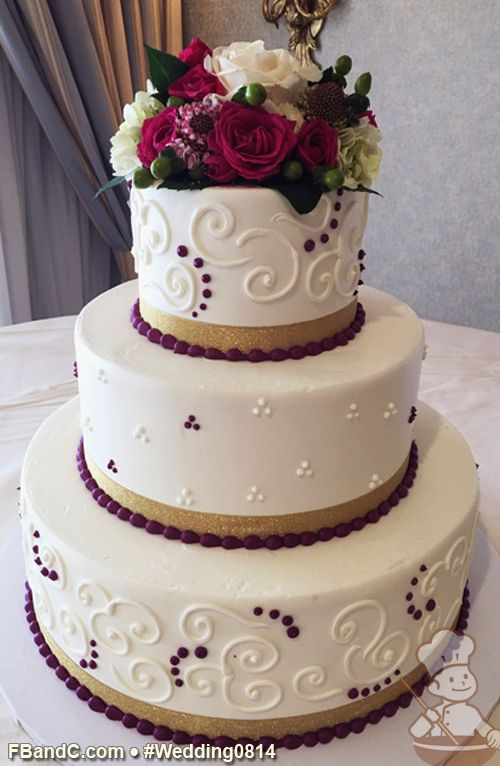 Wedding Cake Designs With Buttercream Icing : 218 best Buttercream Wedding Cakes images on Pinterest ...