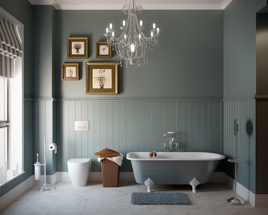 83 best beadboard ideas images on Pinterest | Bathrooms ...