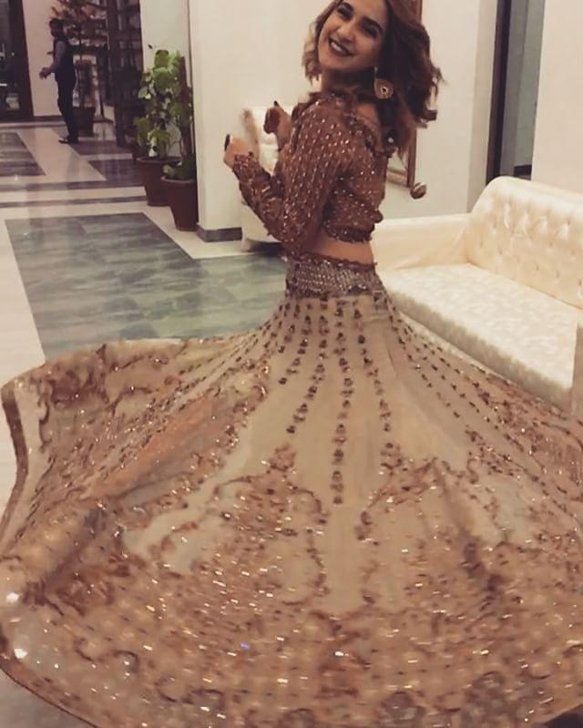 """2,863 Likes, 97 Comments - Anoushay Abbasi  (@anoushayabbasi) on Instagram: """"#anoushayabbasi wearing @faizasaqlain """""""