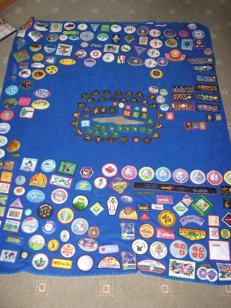 My Camp Blanket Girl Guides Uk Pinterest Girl