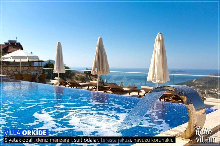 Muhteşem manzaralı, havuzu korunaklı, ultra lüks villa!     - Detaylı Bilgi: 0242 844 15 32 - Villa Orkide: www.hellovillam.com/Villa-Orkide  #manzara #landscape #villa #villas #sea #deniz #havuz #pool #summer #holiday #yaztatili #tatil #picoftheday #photooftheday #antalya #kaş #kalkan