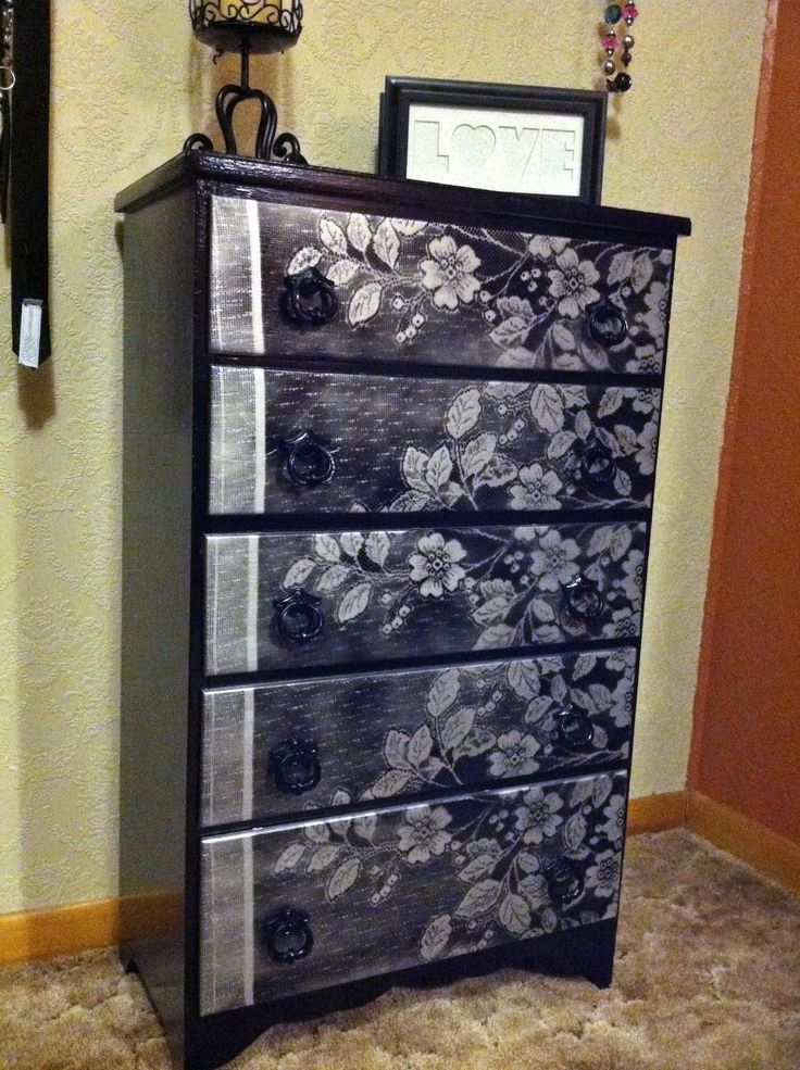 Best 25 Lace painted furniture ideas on Pinterest Lace painting