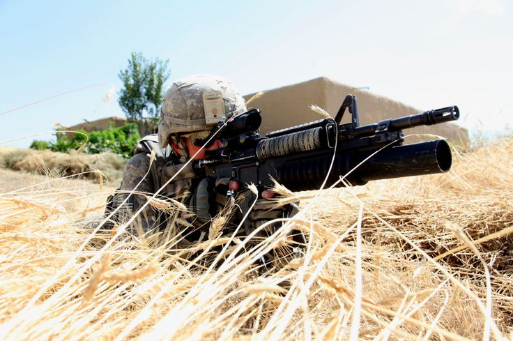 https://flic.kr/p/8h9bZU | Wheat field security | U.S. Army Cpl. Robert Graves provides security in a wheat field in the village of Alowsi in Afghanistan July 6, 2010, as his unit conducts a dismounted patrol through the village. Graves is assigned to the 401st Military Police (MP) Company, 720th MP Battalion, 89th MP Brigade. (DoD photo Spc. De'Yonte Mosley, U.S. Army/Released)
