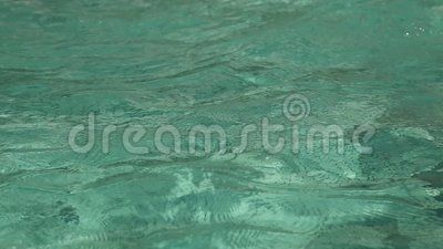 Rippling water texture -  vibration surface water.