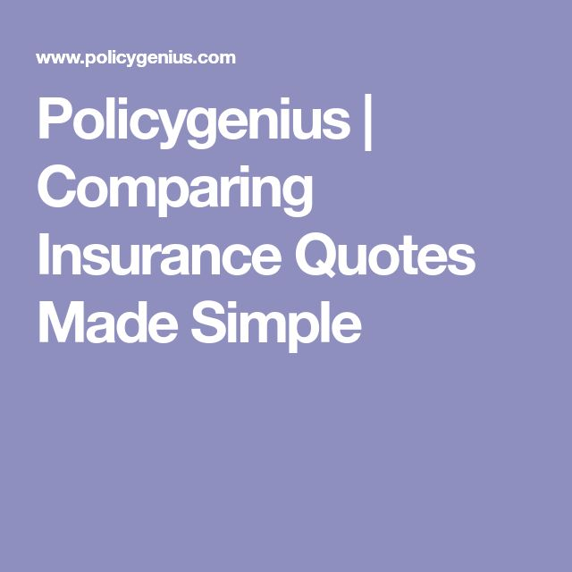 Policygenius | Comparing Insurance Quotes Made Simple
