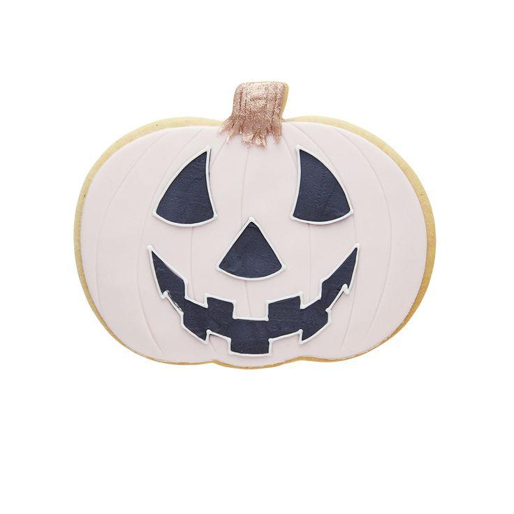 Peggy Porschen - Scary Pumpkin Face Cookie