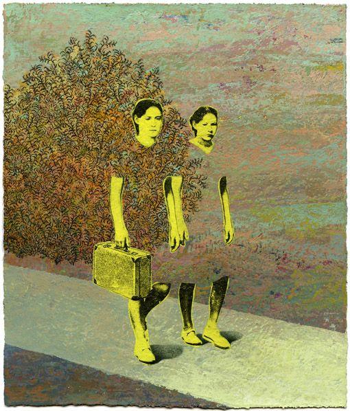Chloe Poizat ( collage / mixed media / painting / art / illustration / surrealism )