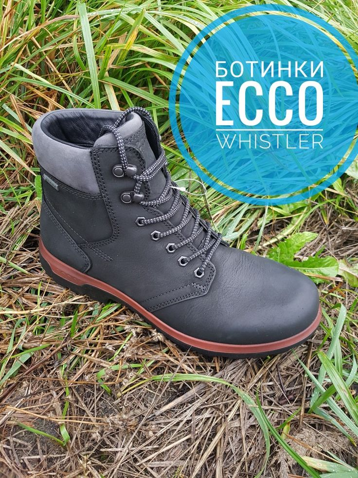 Зимние мужские ботинки ECCO WHISTLER Верх -кожа Мембрана - GORE-TEX ОРИГИНАЛ👌  @hodokcom  #ecco #мужскиеботинки #whistler