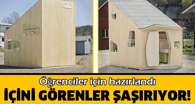 İsveç'te bir mimarlık firması tarafından geliştirilen