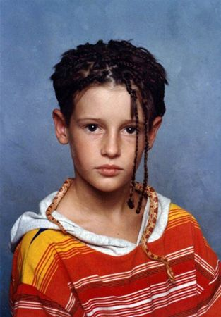 So, you just want to let those couple of strands grow out, huh? | bad hair day | eighties | 1980s | Awkward School Photos | What The Flicka? | Hair humor
