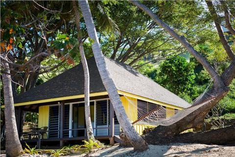 10 x One bedroom thatched Beachfront Island Bures with own bathroom and open air shower. Twin share and double (Double bed) option available. Staying in these bure's offers an unforgettable true island experience.