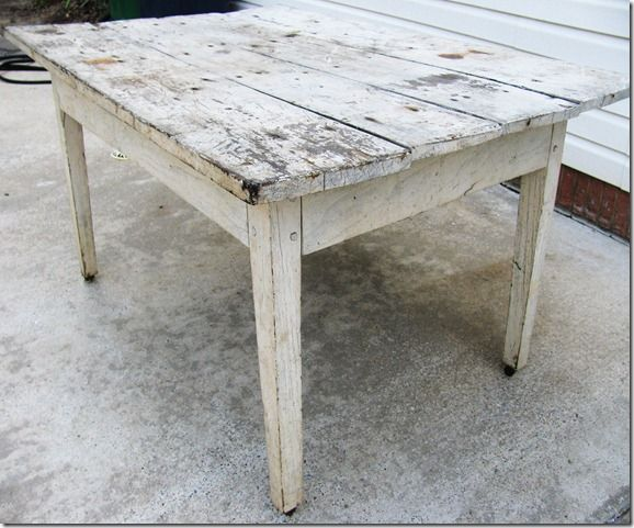 Old Farm Table. #diningroom: Diy Old Farms Tables, Places