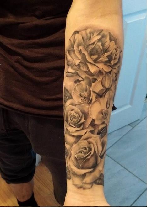 The 25 best carnation tattoo ideas on pinterest for Fake tattoo sleeves toronto