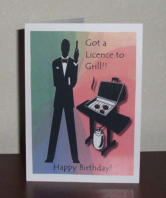 11 best Humourous Fathers Day Cards images – James Bond Birthday Cards