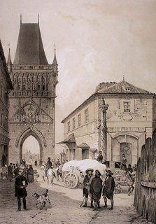 Old Town Bridge Tower, Prague | Křižovnické náměstí ještě bez Karlíka (čtvrtého)