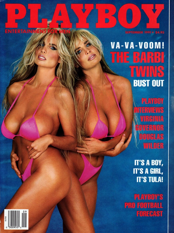 Fucking playboy barbie twins married her