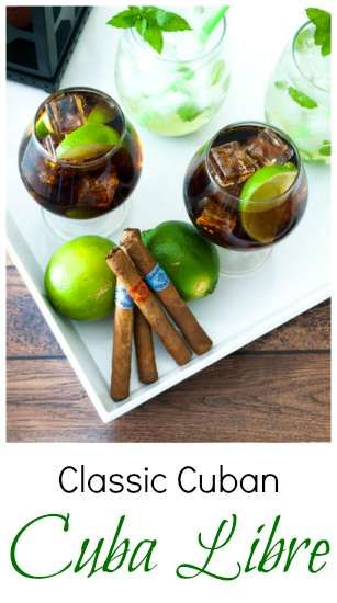 Created around the turn of the century (1902), this classic Cuban drink -- the Cuba Libre -- uses simple ingredients. | KitchenDreaming.com |