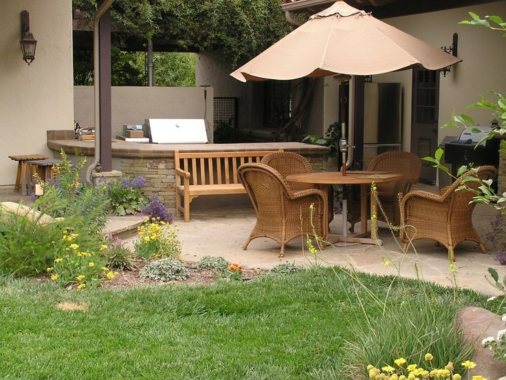 41 best simple outdoor patio ideas images on pinterest | patio ... - Patio Furniture Ideas For Small Patios