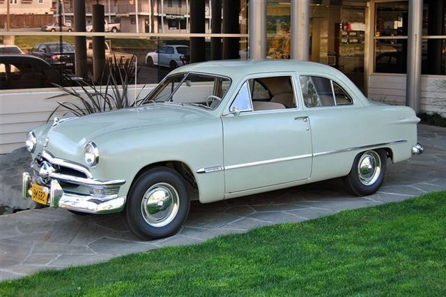 1950 Ford Custom Deluxe | good old days | Pinterest