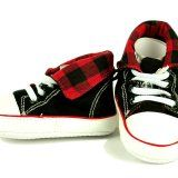 Red Checker High Tops – Bling Baby Gear