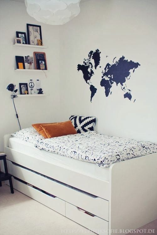 Ideas e inspiracion de habitaciones para adolescentes!   Decoración