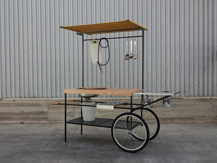 Mobile kitchen Q-CINA by Officine Tamborrino Design MoMAng Design 2800€ (4000)