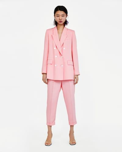 ceacf170dd Women's Suits | New Collection Online | ZARA United States ...