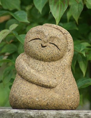 Japan-Collection-Healing-Ksitigarbha-made-of-Granite-JIZO-H-20-cm