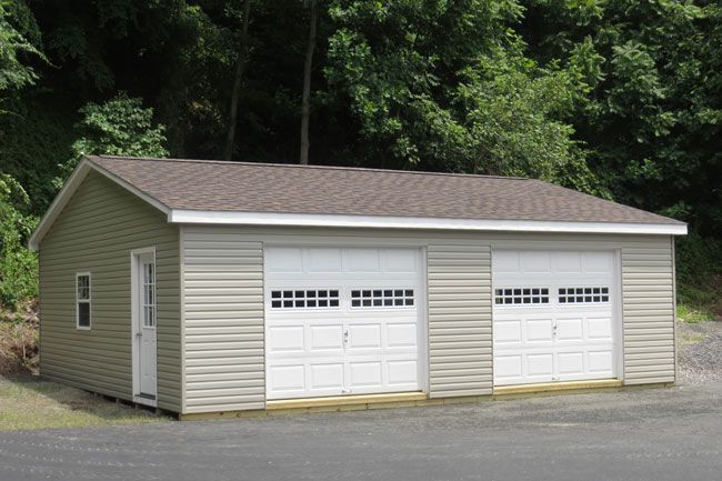 Best 25 prefab garages ideas on pinterest prefab garage for Prefab double garage