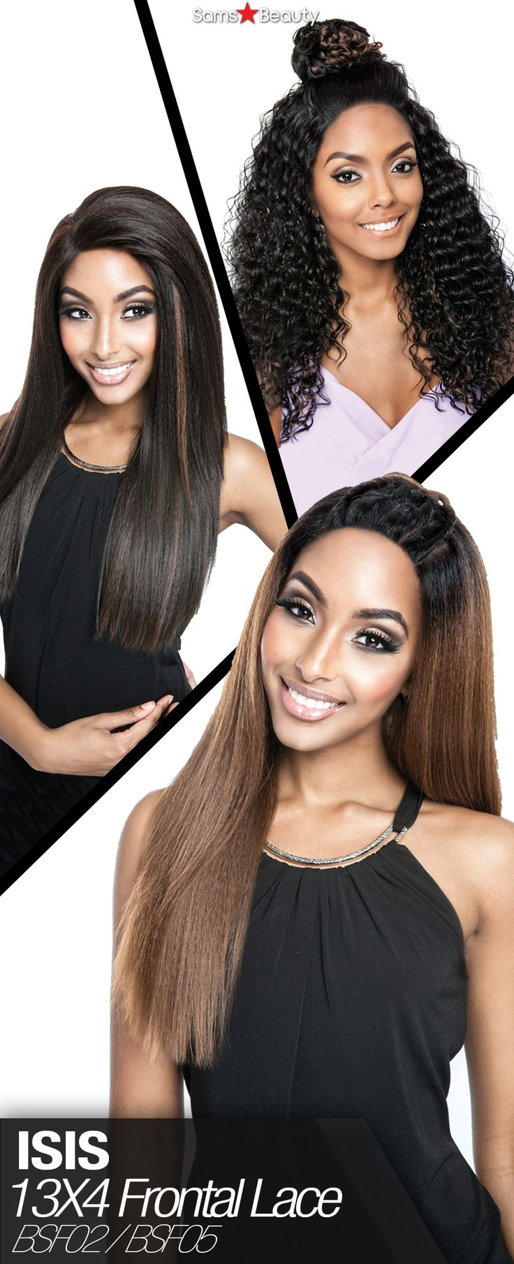 ISIS HUMAN HAIR BLEND LACE FRONT WIG BROWN SUGAR 13X4 FRONTAL LACE BSF02 (TOP) & BSF05 (MIDDLE & BOTTOM)  BSF05 - SAME PRICE✌️ #blackgirlmagic #blackgirlhair #hairstyle #lacewig #lacefrontwig #wig #beauty #trendyhair #hairinspiration