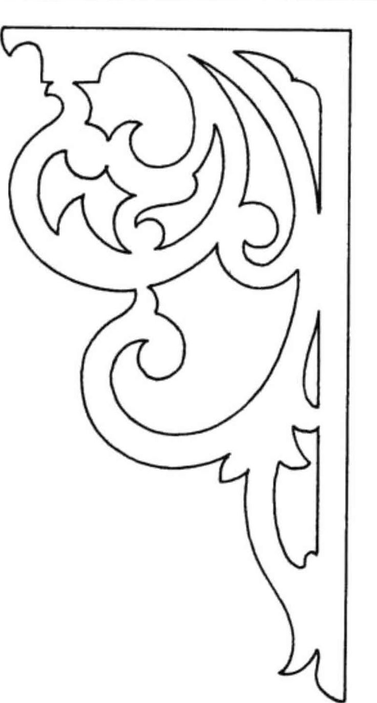This is a picture of Refreshing Free Printable Scroll Saw Templates