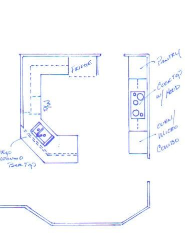 Corner Sink Layout For Small Kitchen House Love In Pinterest