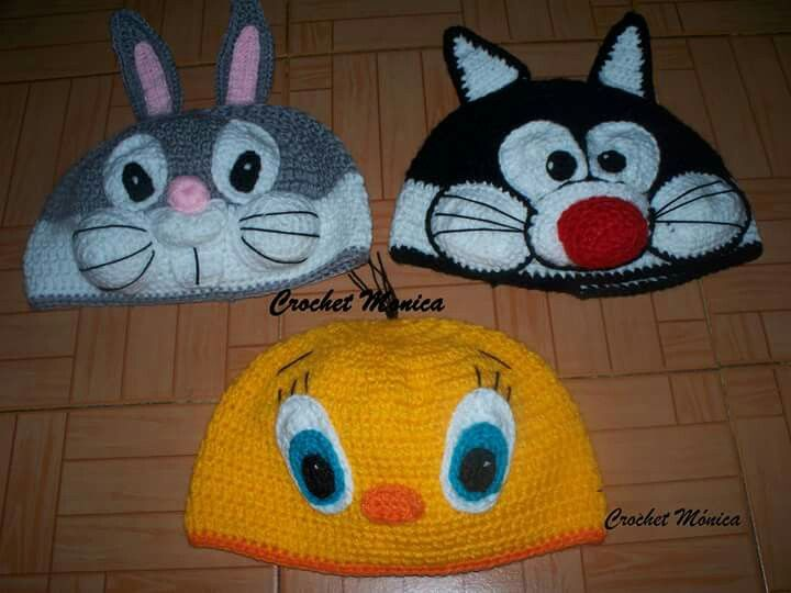 5427 best images about crochet cartoon hats on pinterest