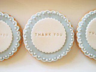 """A pretty way to say """"Thank You"""""""