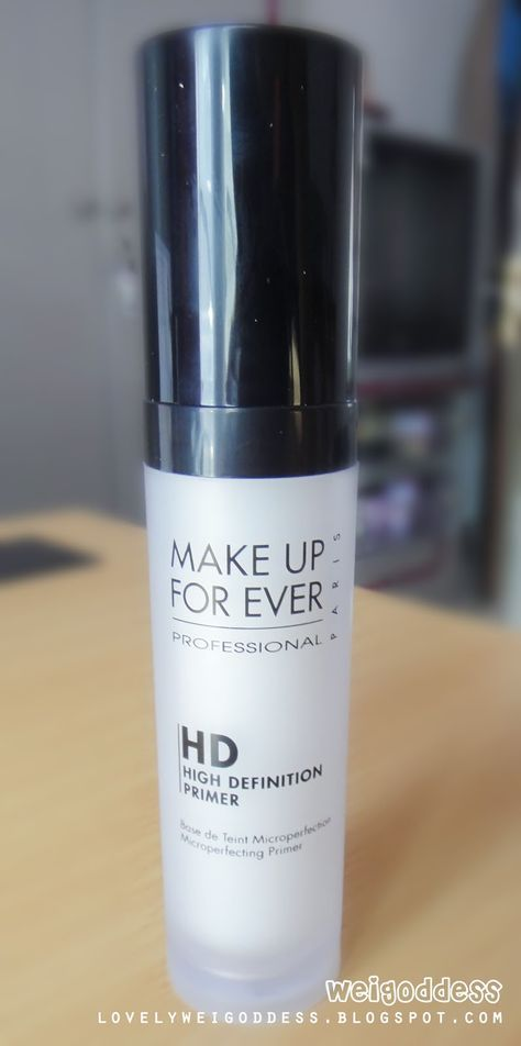 Make Up Forever HD Primer , just bought it Love it!! & to all my fellow makeup artist out there, show them your makeup artist website and you get 40% off industry discount!! :):):):)