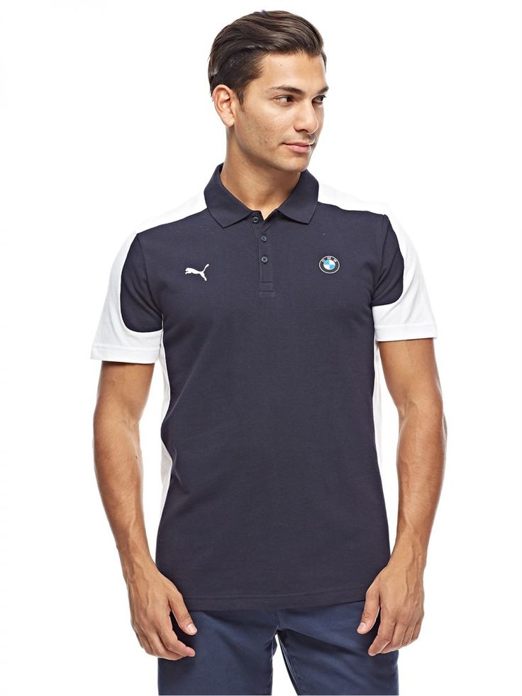 Buy Puma Polo Shirt for Men - Blue - Tops | UAE | Souq