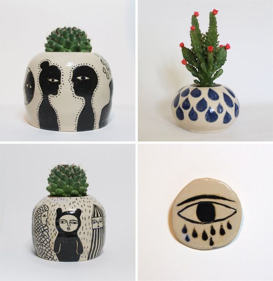 Kinska shop #pottery #painting #illustration