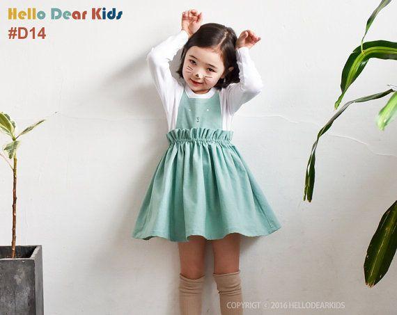 kids sewing pattern pdf/ girls cat suspender dress/ baby sewing pattern/ children clothing/Toddler sewing pattern/6M-7years  You will need:  1 yard