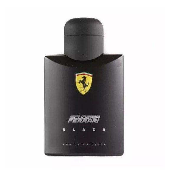 Perfume Importado Ferrari Black 125ml boa fixação