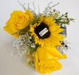 Yellow #Flowers #Bouquet www.kikka.co.za